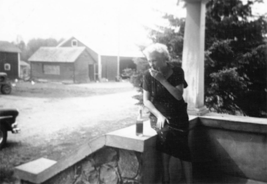 A beer and a cigarette.  That was my grandmother